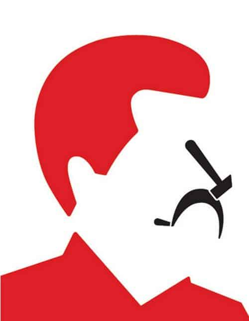 Graphic Design | Saul Bass Inspired – Stalin – Noma Bar