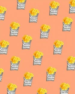 Patterns | BOUFFANTS & BROKEN HEARTS Fries