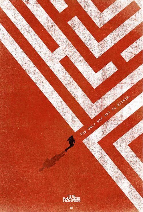 Graphic Design | Saul Bass Inspired – Maze Runner Key Art
