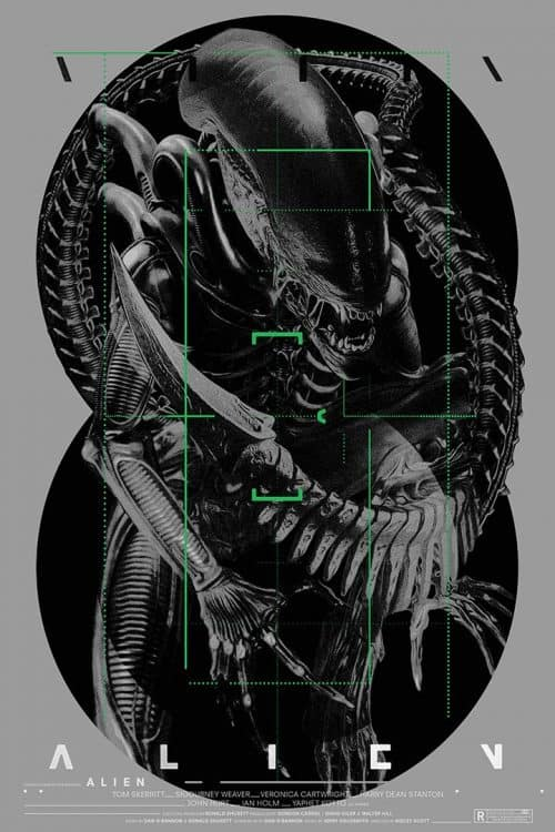 Graphic Design   Poster   Alien – Poster Design