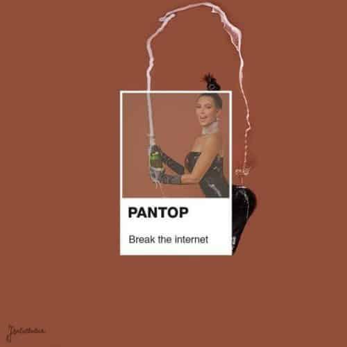 Pantop Kim Kardashian Break The Internet
