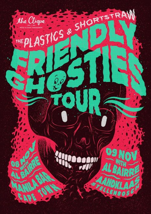 Graphic Design | Poster | Friendly Ghosties Tour