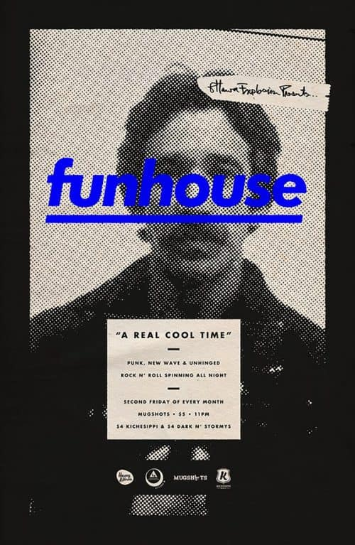 Graphic Design   Poster   funhouse by Michael George Haddad