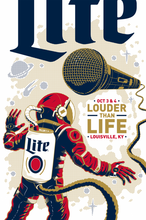 Graphic Design | Poster | Miller Lite Posters 2016