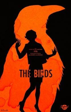 Graphic Design | Saul Bass – The Birds Key Art