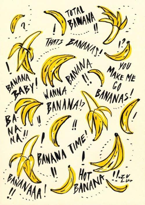Patterns | Bananas in Progress Pattern