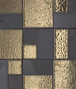 Textures | Ceramic flooring Mosaici d'autore metal Refin. Check it