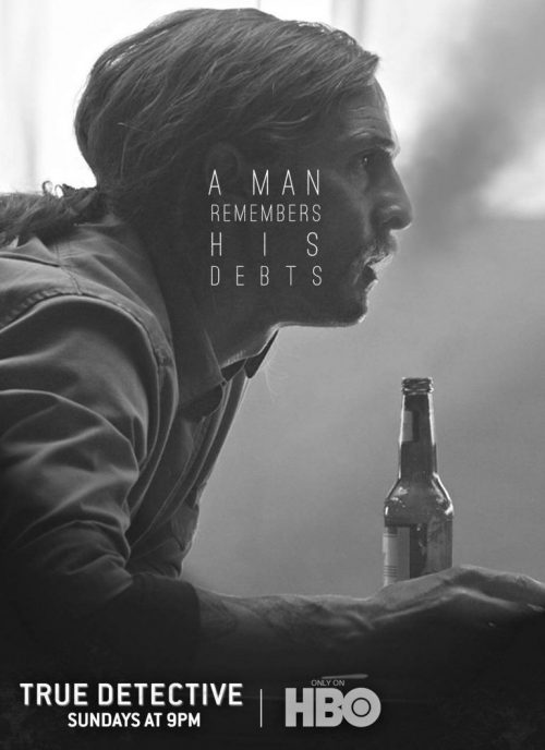 Graphic Design | Magazine | True Detective – Rust Cohle