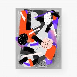 Vasjen Katro   Baugasm Gradient Poster Design