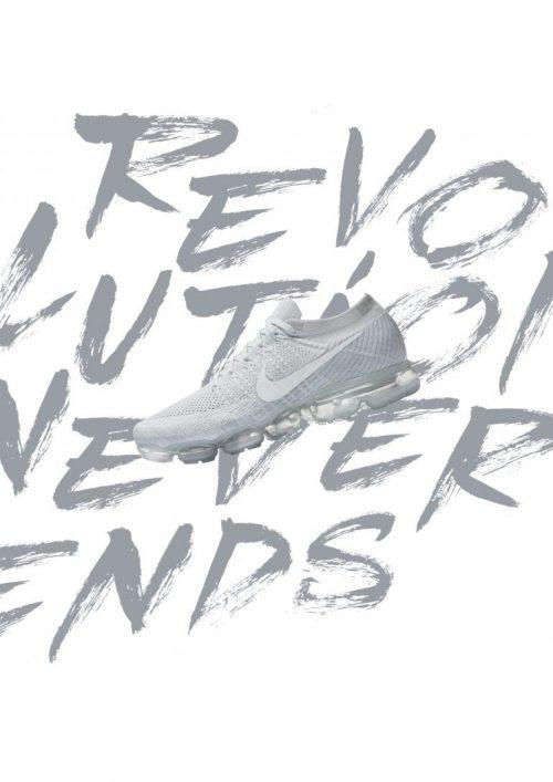 Graphic Design | Poster | Nike white edition