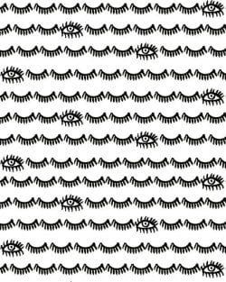 Patterns | Lash and Eye. from bouffantsandbrokenhearts.tumblr.co