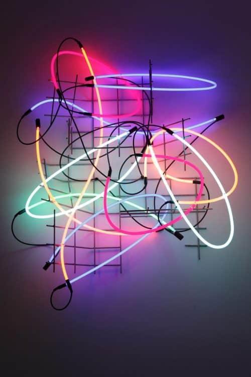 Neon   Keith Sonnier Neon Lights