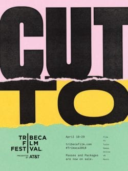 Cut to Tribeca Film Festival Movie Poster