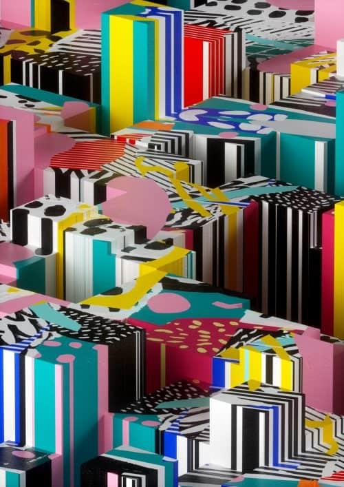 3D | C4D Design – Lines and Patterns – DannyIvan
