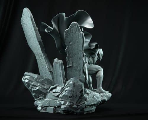 3D | Digital Sculpt – Black Panther – AlexisFioretti