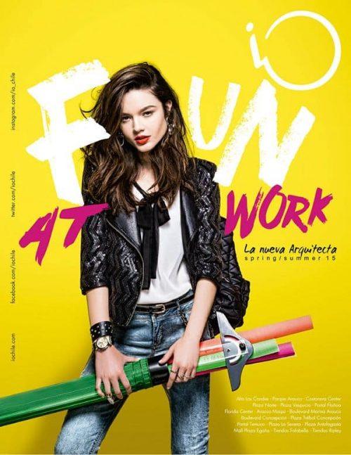Graphic Design   Magazine   iO SS 15
