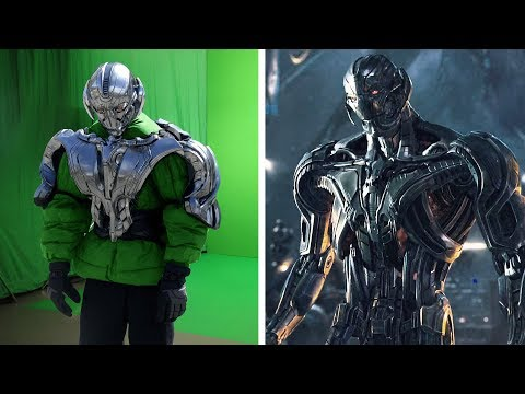 VFX | Amazing Before & After Hollywood VFX: Avengers – Age