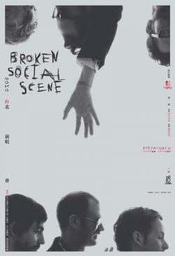 Graphic Design   Poster   Broken Social Scene