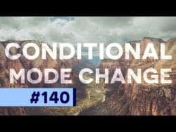 What is Conditional Mode Change in Photoshop?