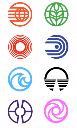 Graphic Design | Saul Bass Inspired Logos