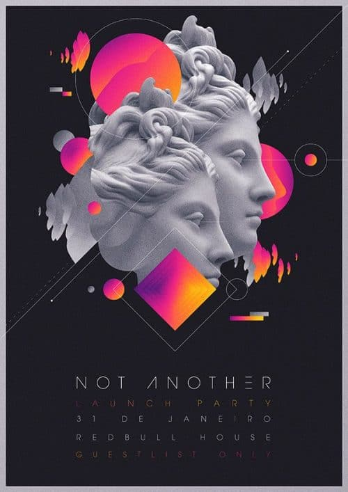 Graphic Design | Poster | Not Another Launch Party Flyer