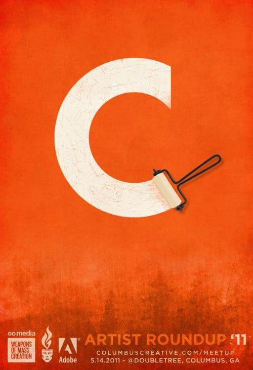 Graphic Design   Poster   Columbus Creative Poster