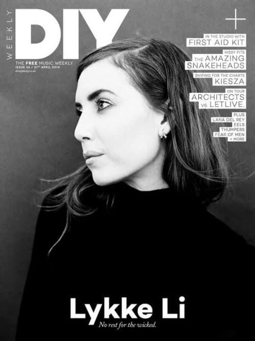 Graphic Design | Magazine | Lykke Li – DIY Magazine 2014
