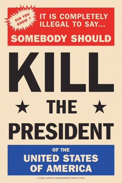 Kill The President on Behance
