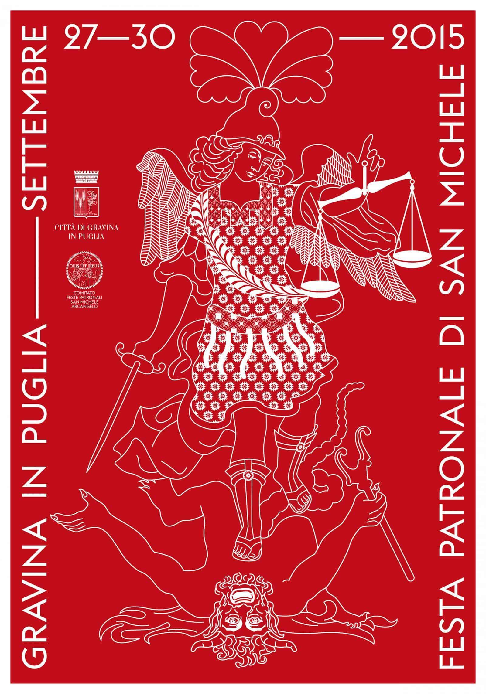 Graphic Design | Poster for the Saint Michael Patronal festival – AGI