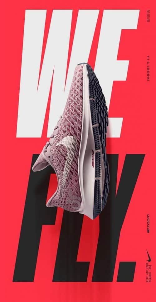 Graphic Design | Poster | New Pegasus 35 engineered to Fly