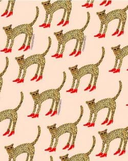 Patterns | Cheetah in Heels Bouffants and Broken Hearts from c-