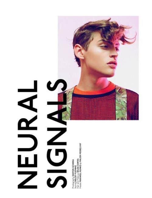 Graphic Design | Magazine | Neural Signals by Adriano B