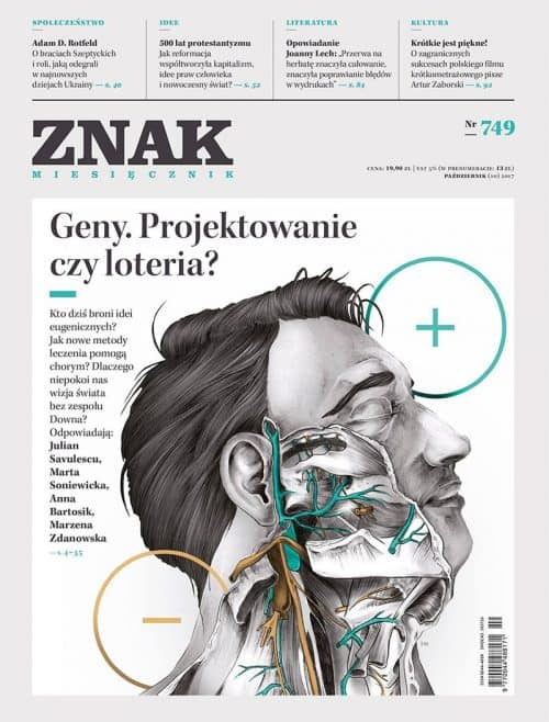 Graphic Design | Magazine | Znak Magazine Cover 749