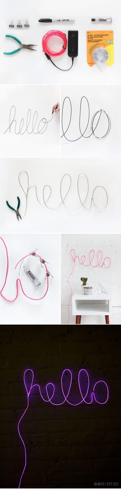 Neon | Neon Type – Hello
