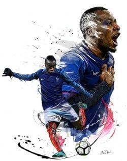 Graphic Design | Poster | Hotel Equipe de France de Football