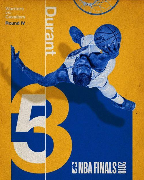 Graphic Design   Poster   2018 NBA Finals Social