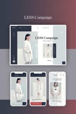 UI UX | Fashion Store Website Mock