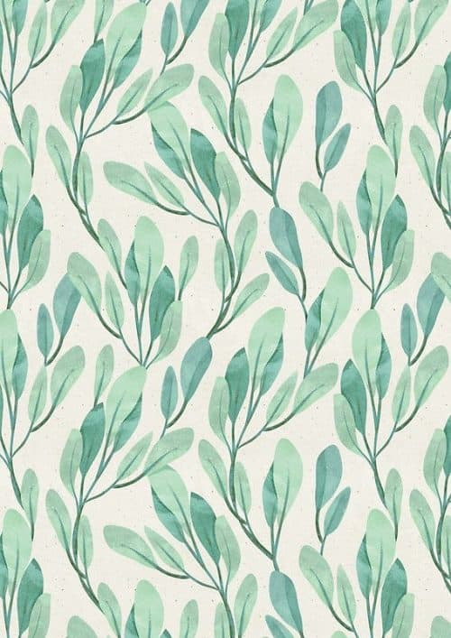 Patterns | Simple watercolor floral design • Buy this artwork on phone