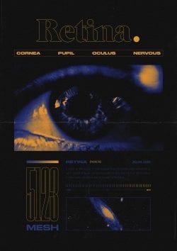 Graphic Design | Retina -Luke Brickett – Poster & Print