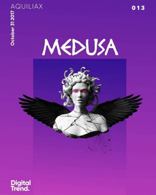 Graphic Design | Poster | 013 Medusa. Don't stare at it