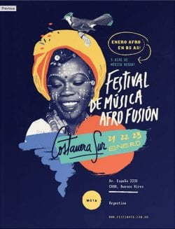 Festival De Musica Afro Fusion Poster