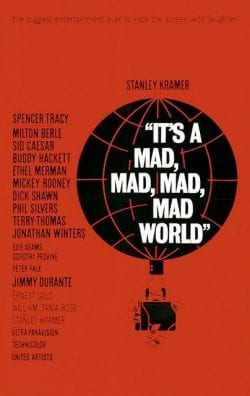 Graphic Design | Saul Bass – Its A Mad Mad Mad Mad World