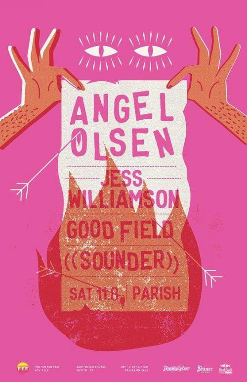 Graphic Design | Poster | Angel Olsen Gig