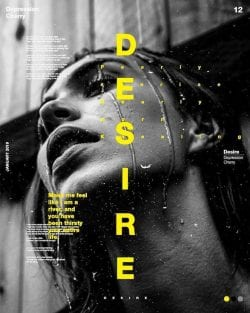 Graphic Design | Poster | Desire makes everything bloss