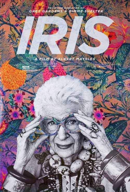 Graphic Design | Magazine | US one sheet for Iris