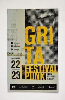 Graphic Design | Poster | GRITA festival