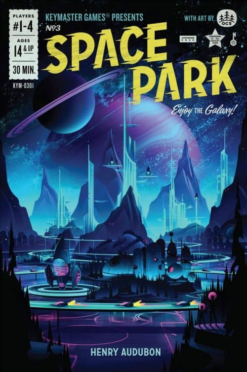 Graphic Design | Magazine | Space Park Board Game