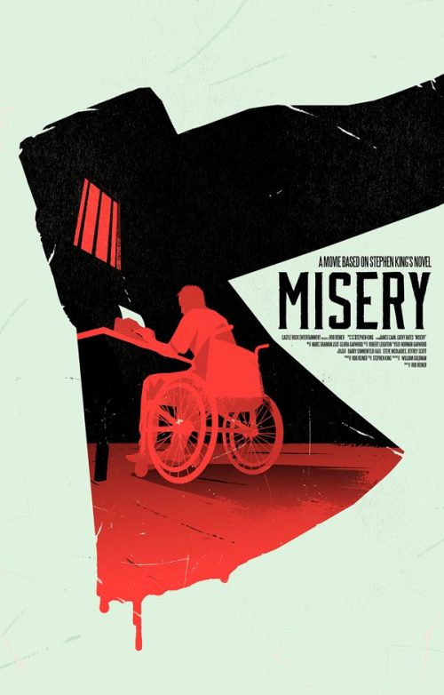 Graphic Design | Saul Bass Inspired Misery Key Art by Levent