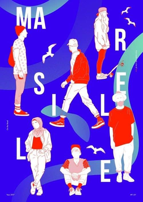 Graphic Design | Poster | MA R  S E  I L  L  E