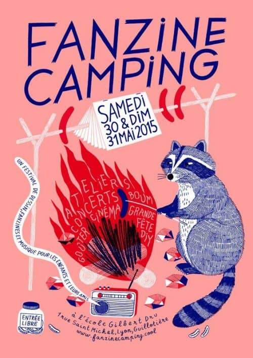 Graphic Design | Poster | Fanzine Camping